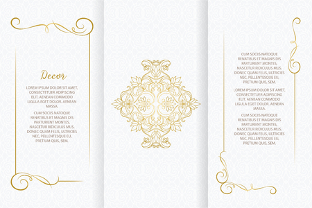 Lace decor for birthday and greeting card, wedding invitation,certificate.