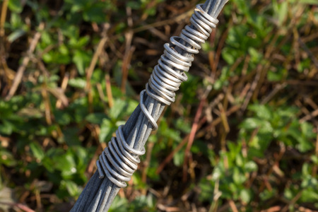 climbing cable: The sling on background.