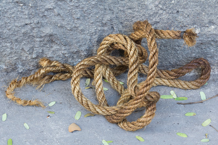 thick: Twisted thick rope