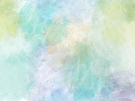 Abstract Colorful shape watercolor illustration painting  background, Colorful brush background.