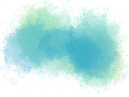 Abstract colorful brush on watercolor illustration painting background. Stok Fotoğraf - 124606896
