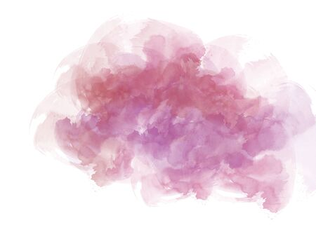 Abstract colorful shape on watercolor illustration painting background. Stok Fotoğraf - 126951480