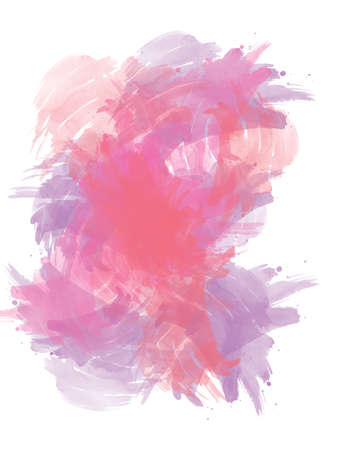 Abstract beautiful Colorful watercolor illustration painting background, Colorful brush for backdrop texture background.