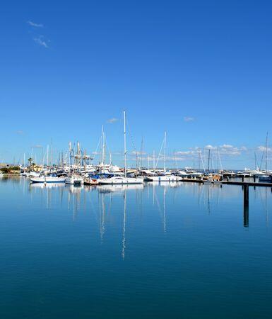 Marina in Cyprus