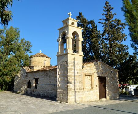 Old chapel of Agios Mamas in Cyprus Stock Photo