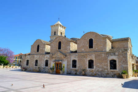 lazarus: Outside  Saint Lazarus church Stock Photo