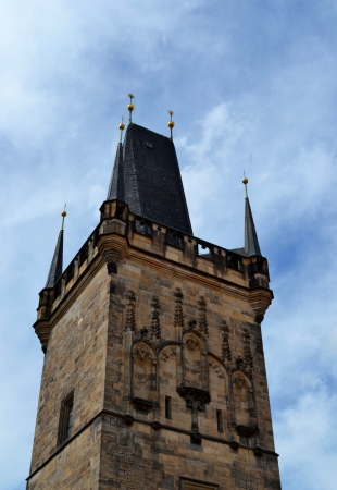 The Lesser Town Bridge Tower in Prague photo