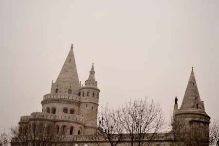 fisherman bastion: Fisherman s bastion in Budapest
