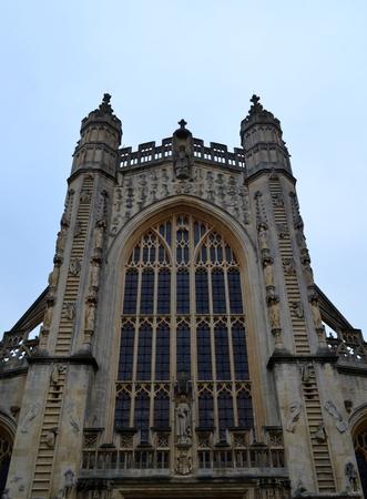 Exterior of Bath Abbey photo