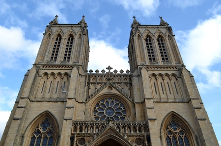 Exterior of Bristol cathedral photo