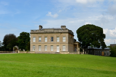 Building from Blaise Castle and sky