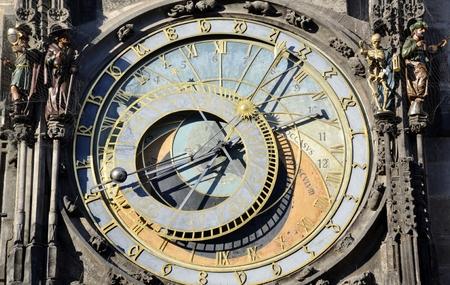 astronomie: Alte Astronomie Uhr in Prag Lizenzfreie Bilder