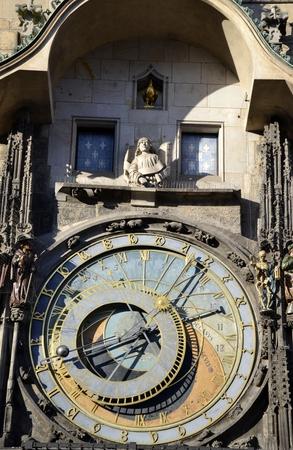 astronomy: Old astronomy clock in Prague