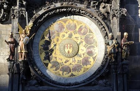 Old astronomy clock in Prague