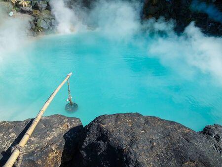 aguas termales en Beppu
