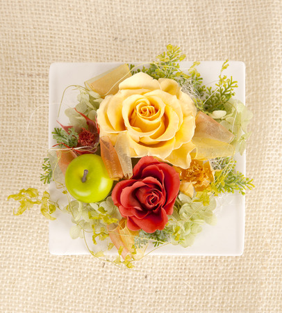 Rose flowers arrangement photo