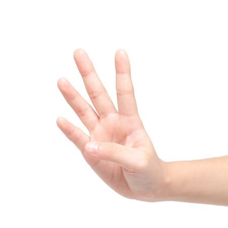 fingers: four fingers