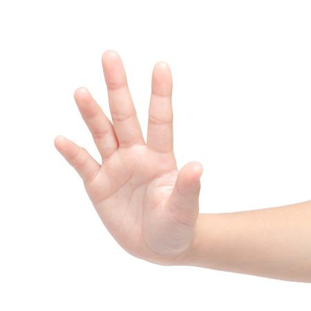 fingers: five fingers