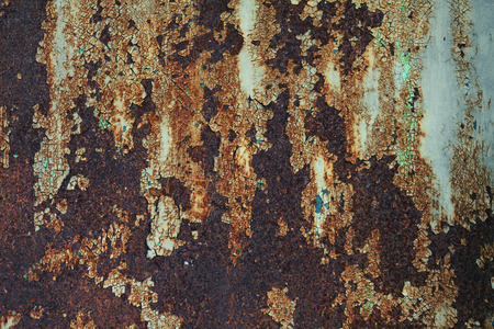abstract wall textured background surface of old metal iron rust. vintage look background style.