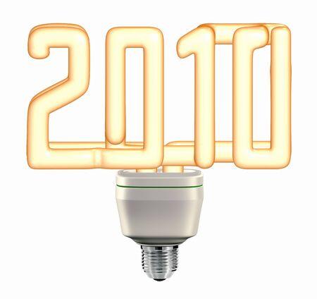 Light bulb 2010 for energy saving