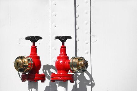 Red Water Valves