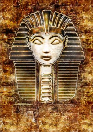Pharaoh Hatshepsut.  SPHINX face photo