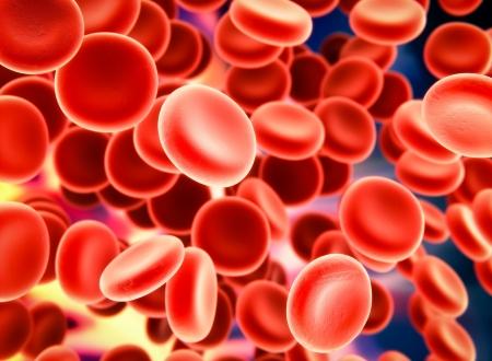 globulo rojo: Sangre Foto de archivo