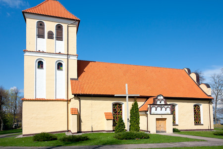 Saint Andrew Bobola church in Rydzewo XVI century - roman   catholic  Warmian-Masurian Province