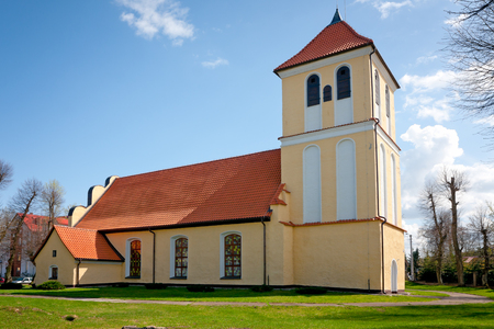 xvi: Saint Andrew Bobola church in Rydzewo XVI century - roman   catholic  Warmian-Masurian Province