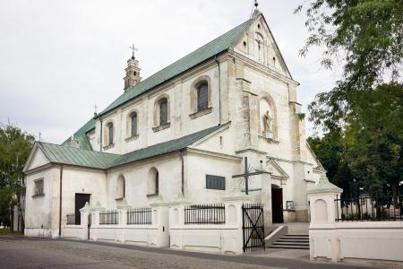 Church of Saint Andrew in Leczyca  czyca  XIV century  gothic   barok