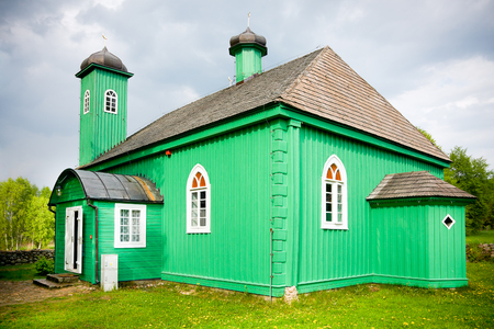 Wooden mosque in Kruszyniany   Krynki XVII century  Poland