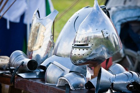 Bascinet helmets, medieval armament