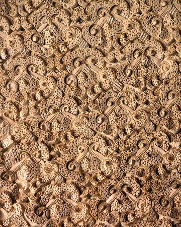 Stucco pattern of Alcazar Jardines Stock Photo - 26275044