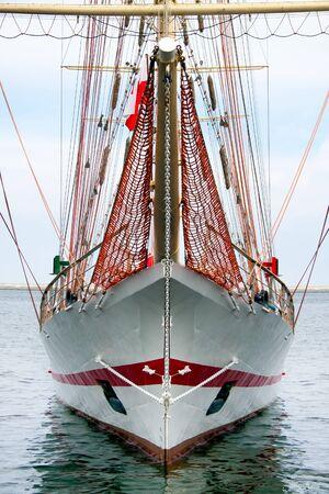 schooner: Barquentine, schooner barque front
