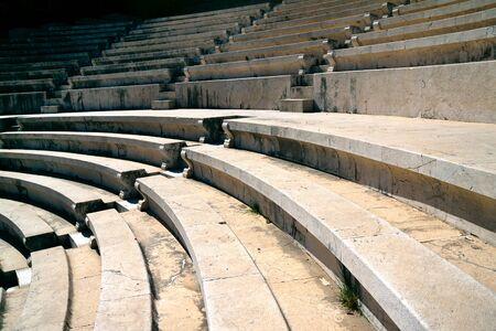 rhodes: Rhodes amphitheater Stock Photo