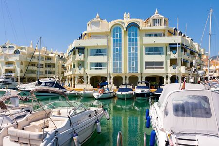 Benalmadena Puerto marina, Costa del Sol, Spain Stock Photo - 26757515