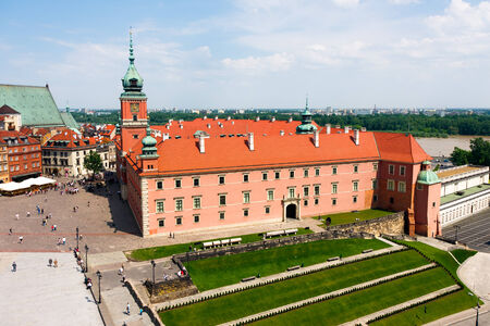 Royal Castle in Warsaw City