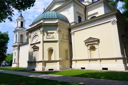 Warsaw, Church of St  Anne in Wilanow, Neo-renaissance