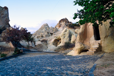 Cappadocia, ancient churches, Turkey