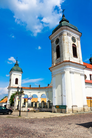 Tykocin Town in Poland, Church of the Holy Trinity