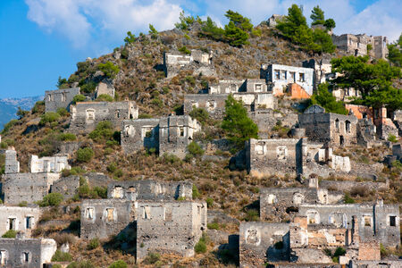 kayakoy: Ghost Town, Village of Kayakoy, Turkey