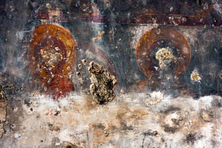 Ancient wall paintings, Frescoes depicting the lives of Saints
