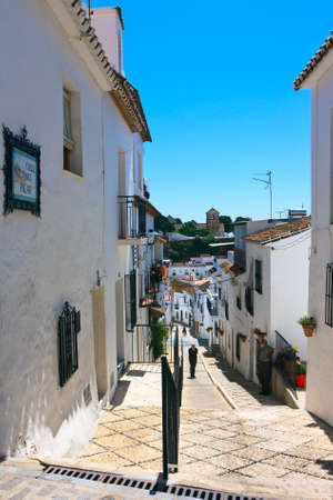 Calle del Pillar street, Mijas streets and architecture