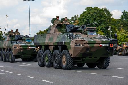 Rosomak KTO - Wheeled Armored Vehicle  Polish Armed Forces Day