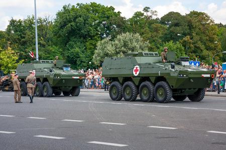 Medical Evacuation Vehicles KTO ROSOMAK,  Wolverine