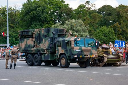 locating: WARSAW, POLAND Weapon locating  Artillery Support Radar LIWIEC Editorial