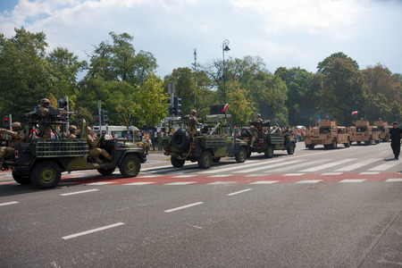 convoy: Military convoy   Polish Armed Forces Day