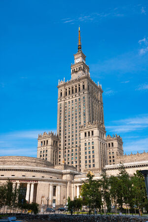 Warsaw City tourist attraction, Palace of Culture and Science