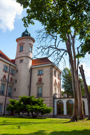 detained: Bielinski Palace, where Polish Leader Lech Walesa was detained