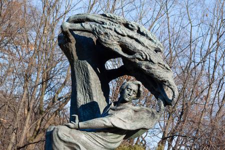 frederic: Frederic Chopin Estatua Editorial